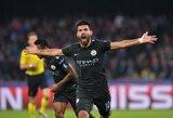 """S.Aguero tapo visų laikų rezultatyviausiu """"Manchester City"""" žaidėju"""