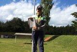 A.Bogdanova aplenkė visus vyrus ir tapo Lietuvos stendinio šaudymo čempione