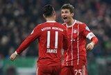 """Vokietijos taurėje """"Bayern"""" triumfavo prieš """"Borussia"""""""