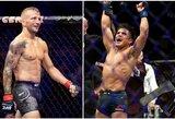 Netikėta: du dabartiniai UFC čempionai planuoja susikauti lengviausioje svorio kategorijoje