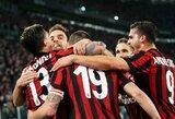 """Finansinio sąžiningumo taisykles pažeidęs """"AC Milan"""" klubas pašalintas iš Europos lygos"""