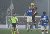 """Koronavirusas varo į neviltį italus: """"Serie A"""" čempionatas gali būti rengiamas dviejų sezonų metu"""
