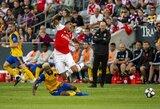 """""""Arsenal"""" pasirengimą naujam sezonui pradėjo pergale Kolorade"""