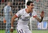 A.Di Maria išplėšė pergalę PSG klubui
