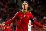 """C.Ronaldo atsisakė įvertinti savo šansus laimėti """"Ballon d'Or"""" apdovanojimą"""