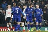 """""""Leicester"""" šiaip ne taip išsigelbėjo nuo iškritimo iš FA taurės"""