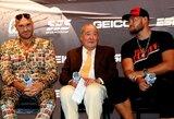 """B.Arumas įsiutęs dėl UFC prezidento veiksmų: """"Tas kaubojus gali pakenkti visam sportui"""""""