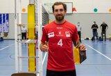 Lietuvos tinklininkas – naudingiausias CEV turnyro rungtynių žaidėjas