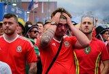 Pamatykite: gerbėjų emocijos dramatiškose Anglijos ir Velso rungtynėse
