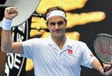 """R.Federeris ir M.Čiličius prasibrovė į trečią """"Australian Open"""" ratą"""