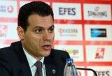 """D.Itoudis pasigedo savo auklėtinių charakterio, """"Olympiacos"""" strategas įvardijo taktinį ėjimą, lėmusį pergalę"""