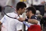 """N.Djokovičius neapgynė """"Mutua Madrid Open"""" teniso turnyro nugalėtojo titulo  (visi rezultatai)"""