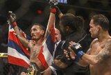 M.Holloway įtikinamai įveikė F.Edgarą ir apgynė UFC čempiono titulą