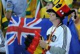 Konfederacijų taurė: australai susitinka su atsinaujinusiais vokiečiais