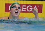 Pirmą plaukimo varžybų Nicoje dieną R.Meilutytė iškovojo auksą ir sidabrą