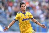 """Italijoje - eilinė """"Juventus"""" pergalė ir P.Dybala """"hetrikas"""""""