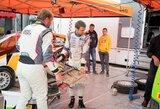 """""""Agrorodeo"""" komandai ralis Lenkijoje baigėsi nė neprasidėjęs"""