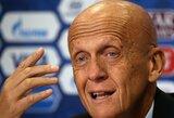 Legendinis teisėjas gali užimti Italijos futbolo federacijos vadovo pareigas?