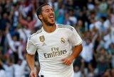 """E.Hazardas tikisi, jog pirmasis pelnytas įvartis """"Real"""" gretose suteiks daugiau pasitikėjimo"""
