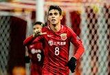 Kiniją palikti norintis Oscaras veda derybas su dviem Milano klubais