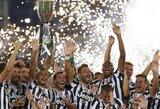 """Italijos Supertaurė – """"Juventus"""" futbolininkų rankose"""