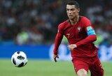 Pamatykite: rekordinis C.Ronaldo sprintas pasaulio čempionate