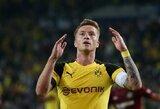 """M.Reusas iššvaistė auksinę progą pelnytį įvartį, o """"Borussia"""" rungtynes su """"Hannover"""" baigė lygiosiomis"""