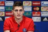 M.Verrati atsiprašė už savo agento žodžius ir yra laimingas, likdamas PSG klube