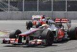 Kanados GP lenktynėse triumfavo L.Hamiltonas