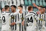 """""""Juventus"""" be vargo žengė į Italijos futbolo taurės pusfinalį"""
