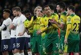 """Po draugiškų rungtynių su """"Tottenham"""" – teigiamas """"Norwich"""" žaidėjo koronaviruso testas"""