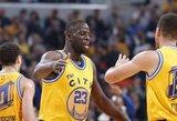 """S.Curry nori, kad """"Visų žvaigždžių"""" rungtynėse būtų penki """"Warriors"""" žaidėjai"""