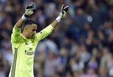 K.Navasas nenori palikti Madrido dėl gaunamos algos?