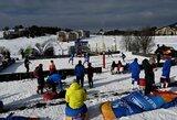 Lietuviai fantastiškai pradėjo Europos sniego tinklinio turo etapą Slovakijoje