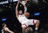 """Toronto žiniasklaida: J.Valančiūnas buvo ne tik """"Raptors"""" žaidėjas, bet ir komandos siela"""
