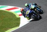 """Italija švenčia: V.Rossi po beveik dvejų metų pertraukos laimėjo """"MotoGP"""" etapo kvalifikaciją"""