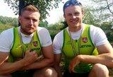 Penki lietuviai plauks Europos baidarių ir kanojų irklavimo čempionato pusfinalyje