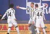 """760-ą karjeros įvartį pelnęs ir rekordą pagerinęs C.Ronaldo padėjo """"Juventus"""" iškovoti Italijos Supertaurę"""