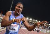 U.Boltui toliau mažėja konkurencija – pasaulio čempionate nedalyvaus Y.Blake'as