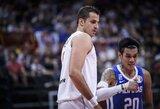 Serbija laimėjo 59 taškų persvara