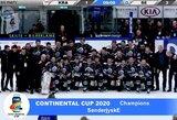"""""""Neman"""" su A.Aleinikovu IIHF Kontinentinės taurės turnyro finalą baigė trečioje vietoje"""