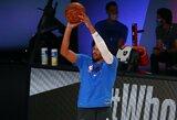 """""""Nets"""" sukirto rankomis su ilgai nežaidusiu gynybos specialistu"""