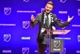 """D.Beckhamo projektas Majamyje stringa: """"Inter"""" paduoti į teismą dėl stadiono statybos"""