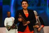 LTOK prezidentei Buenos Airėse įteiktas prestižinis apdovanojimas