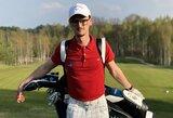 Treneris A.Kaunas paneigė 8 mitus apie golfo sportą