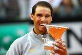 R.Nadalis po penkerių metų pertraukos susigrąžino turnyro Romoje nugalėtojo titulą ir vėl taps pirmąja pasaulio rakete