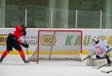 """Per 47 sekundes tris įvarčius įmušusi """"Energija"""" ketvirtą kartą šiame sezone nugalėjo """"Hockey Punks"""""""