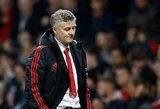 """O.G.Solskjaeras sausį nesitiki naujokų """"Manchester United"""" gretose"""
