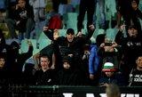Savi sirgaliai pakiaulino: po rasizmo skandalo iš posto traukiasi Bulgarijos futbolo galva