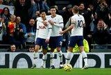 """Uraganinį puolimą pademonstravęs """"Tottenham"""" sutriuškino """"Burnley"""""""